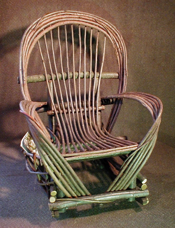 willow chair plans