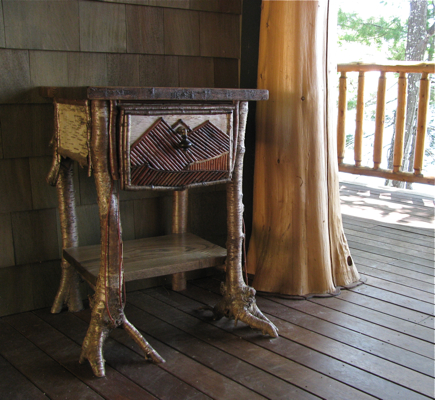 Custom Rustic Furniture By Don Mcaulay End Table